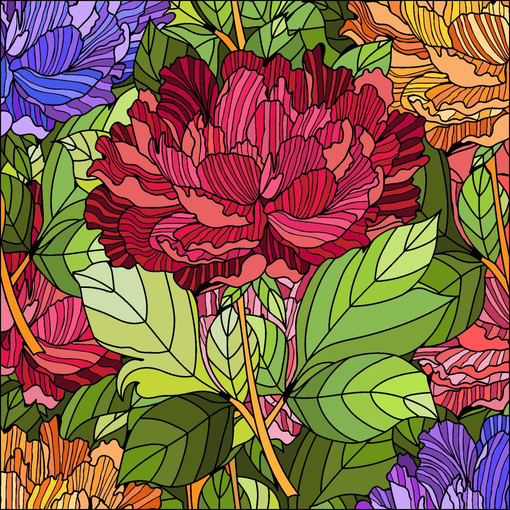 Пин от пользователя Galina на доске цветы | Раскраски ...