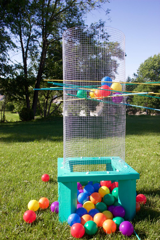 Diy Giant Outdoor Kerplunk Homemade Outdoor Games Diy Yard
