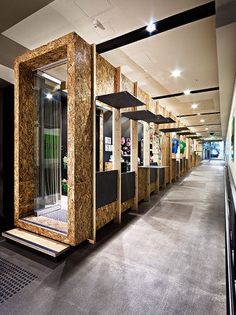 osb used to create pods for retail design retaildesign thi t k c s d ch v retail. Black Bedroom Furniture Sets. Home Design Ideas