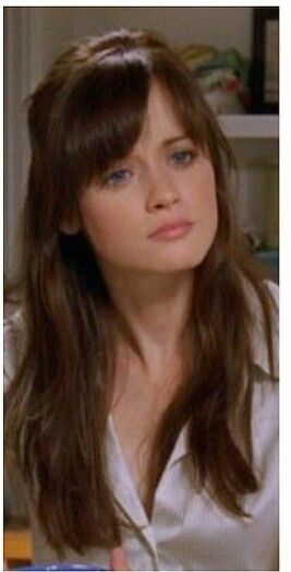 Rory bangs Gilmore Girls Hair Rory gilmore hair Hair