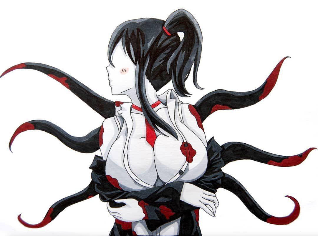 Fem Creepypasta X Demon Male Reader Slenda S Mansion Creepypasta Genderbend Nurse Drawing