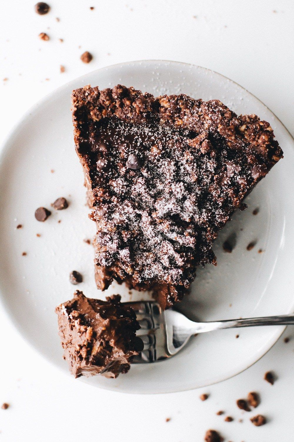 No-Bake Vegan Chocolate Cream Pie