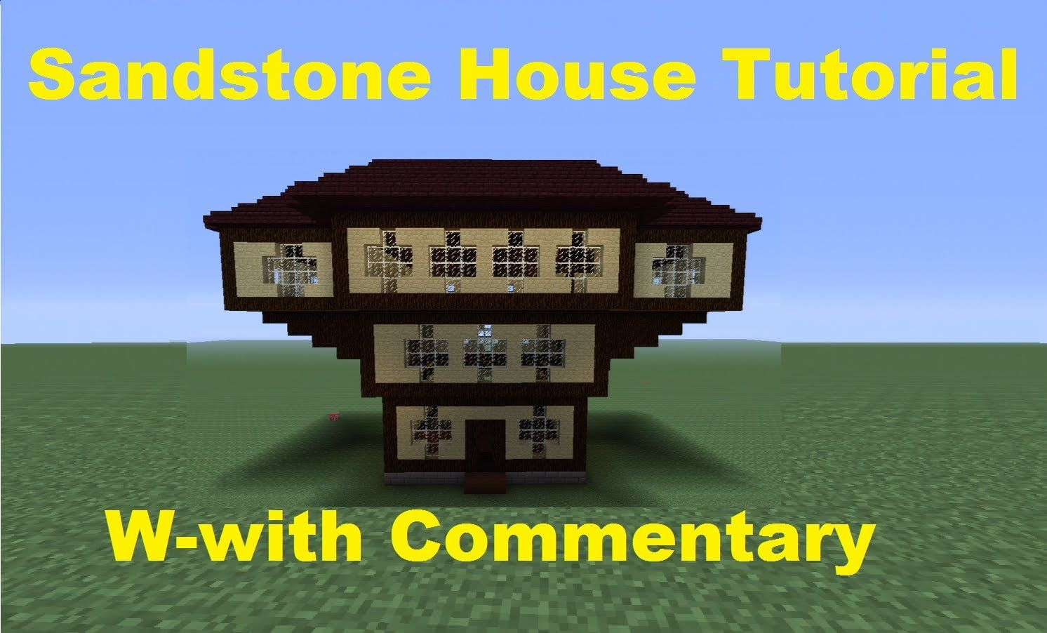 Minecraft 360: How to Build a Sandstone House | minecraft