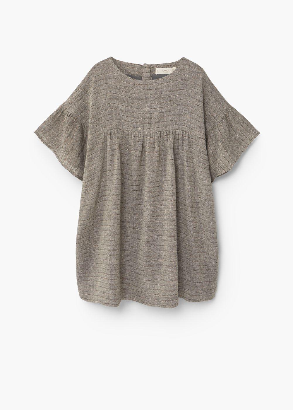 Vestido lana textura | MANGO KIDS