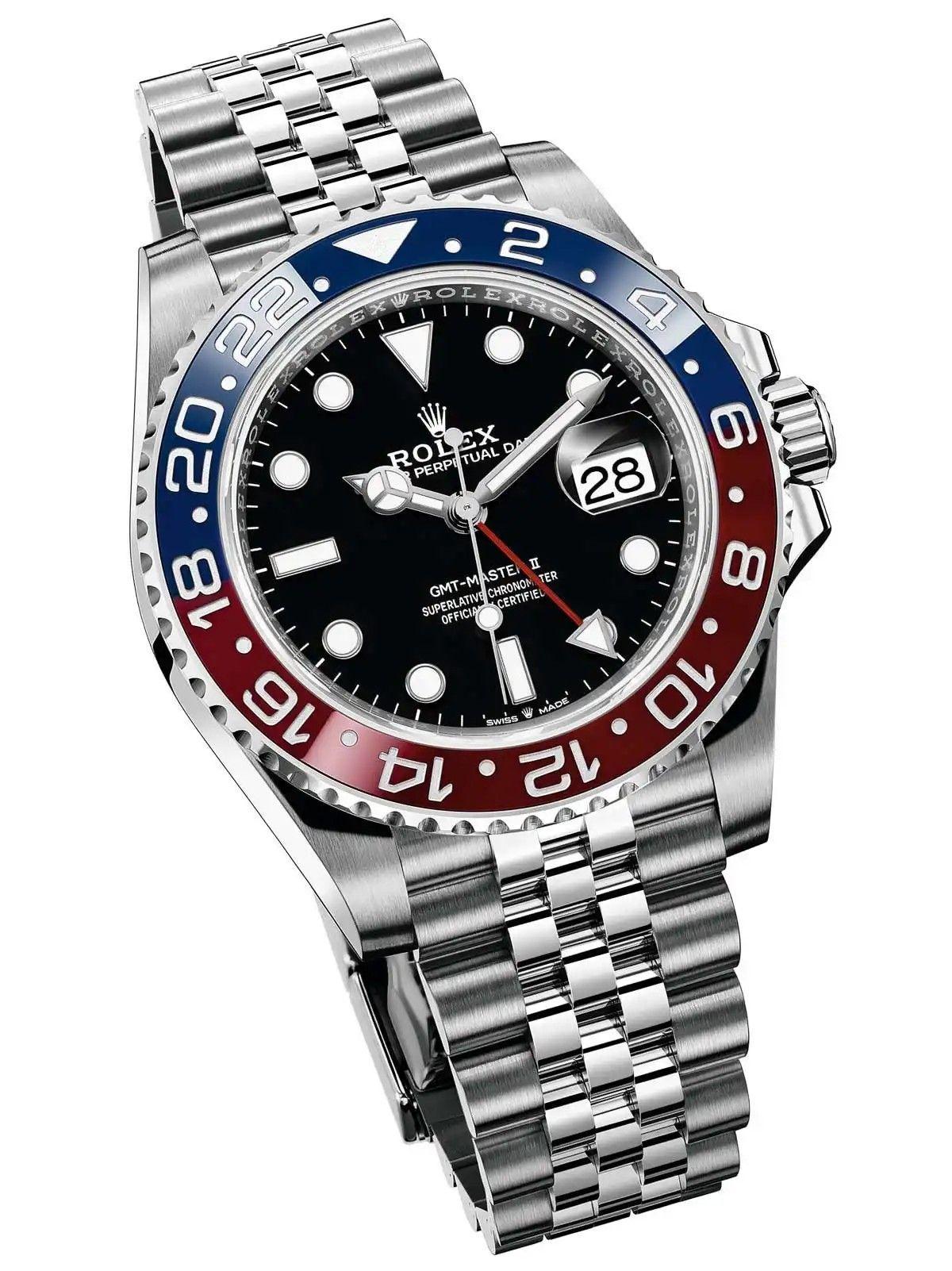 Rolex Gmt Master Ii Pepsi 126710 Blro Montre Rolex Montre Homme Luxe Montres De Diamants