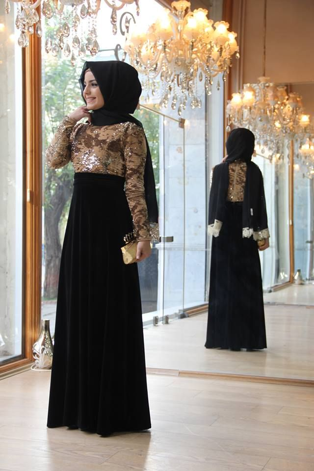 فساتين سواريه للمحجبات 2015 Fashion Muslim Wedding Dresses Dresses