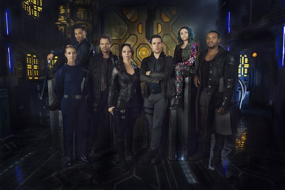 SyFy Channel's 'Dark Matter' TV Series in Photos
