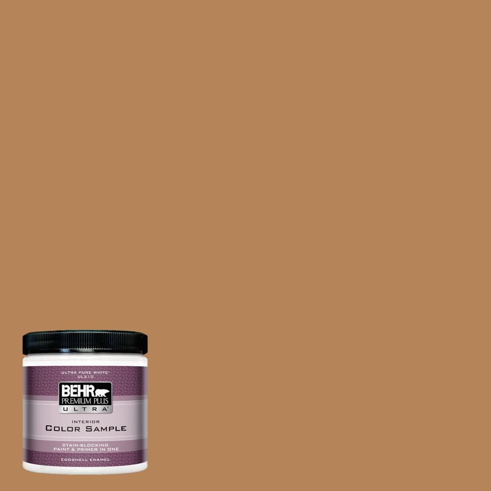 #S270-6 Almond Brittle Eggshell Enamel Interior Paint and Primer in One S&le  sc 1 st  Pinterest & BEHR Premium Plus Ultra 8 oz. #S270-6 Almond Brittle Eggshell Enamel ...