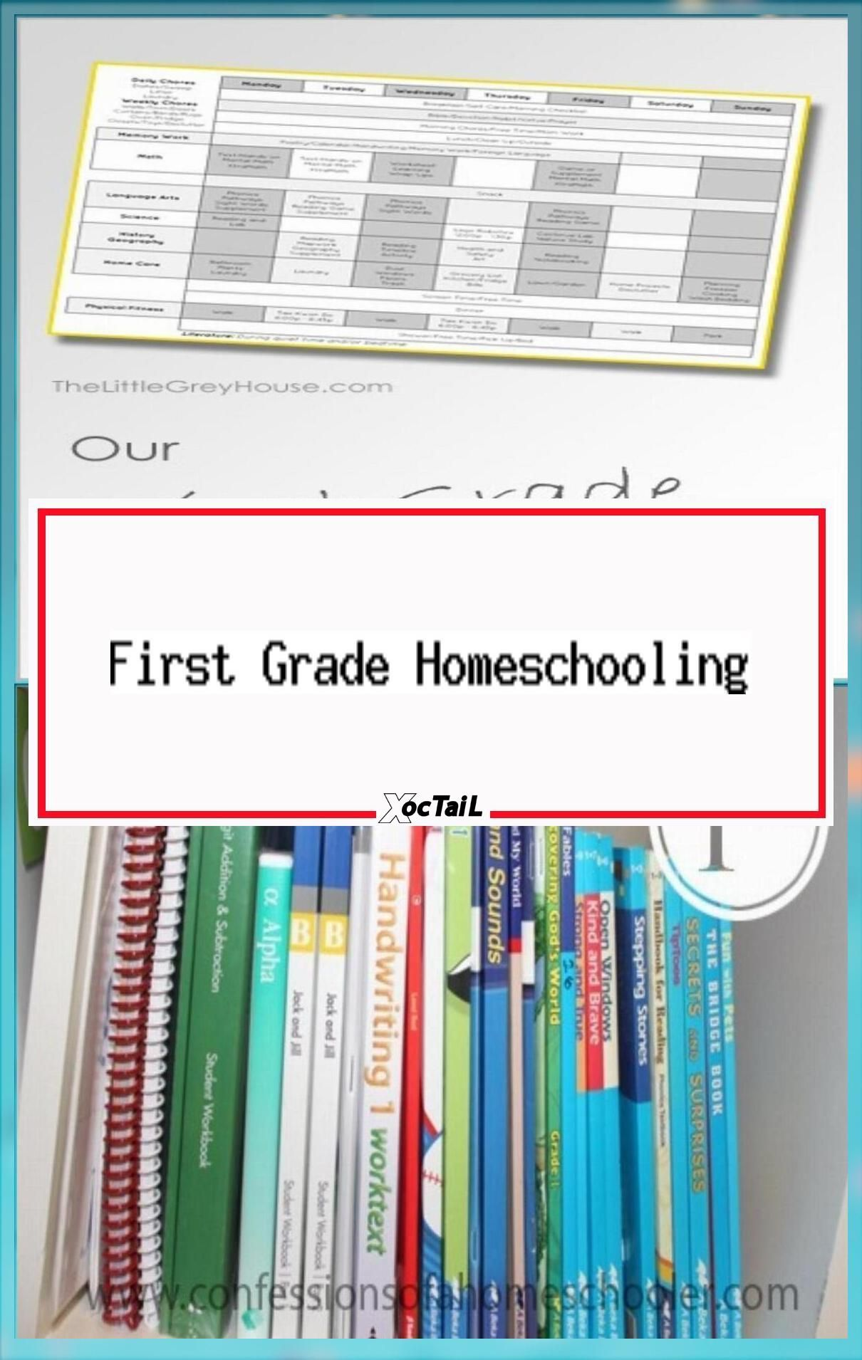 First Grade Homeschooling Schedule