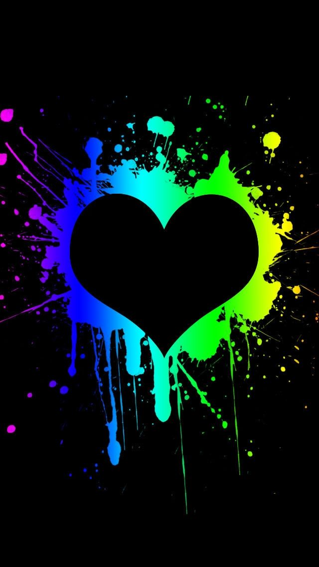 Pin by ilikewallpaper ios wallpaper on iphone 5 se wallpapers heart wallpaper love wallpaper - Lovely wicked iphone wallpaper ...