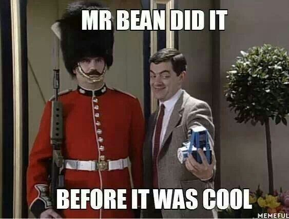 Took selfies way b4 it was cool.  #selfies #selfie #mrbean #cool #photo #pic #picture #photograph #camera #funny #epic #humorous #lol #humor #homemadehumour #f4f #followforfollow #follow4follow #spamforspam #followback