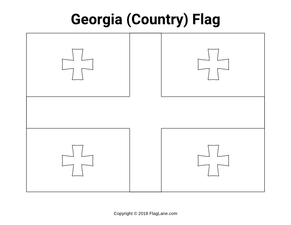 Free Printable George The Country Flag Coloring Page Download It At Https Flaglane Com Coloring Page Georg Flag Coloring Pages Georgia Flag Coloring Pages