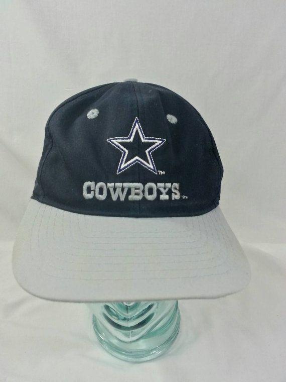 9758ffa70 Vintage 90s Dallas Cowboys Team NFL Snapback Hat Football