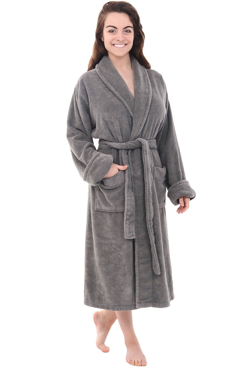 Del Rossa Women s Turkish Terry Cloth Robe 2ddaa717e