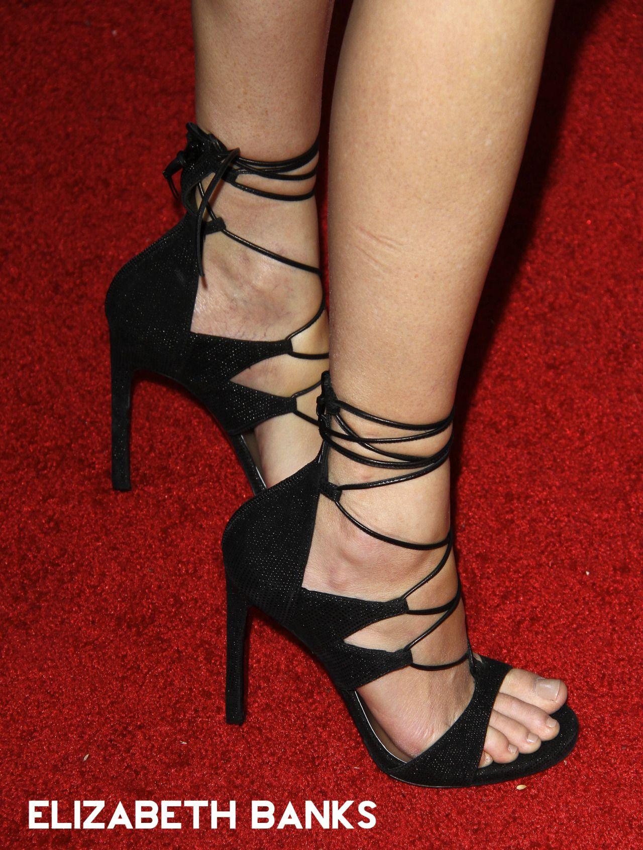 Elizabeth Banks Heels Town Shoes Elizabeth Banks