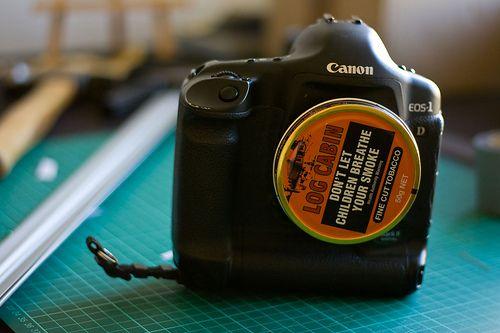 DIY pinhole camera for DSLR
