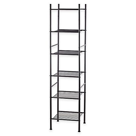 6 Tier Tower Rack Bath Shelf In Oil Rubbed Bronze Our Home Bath