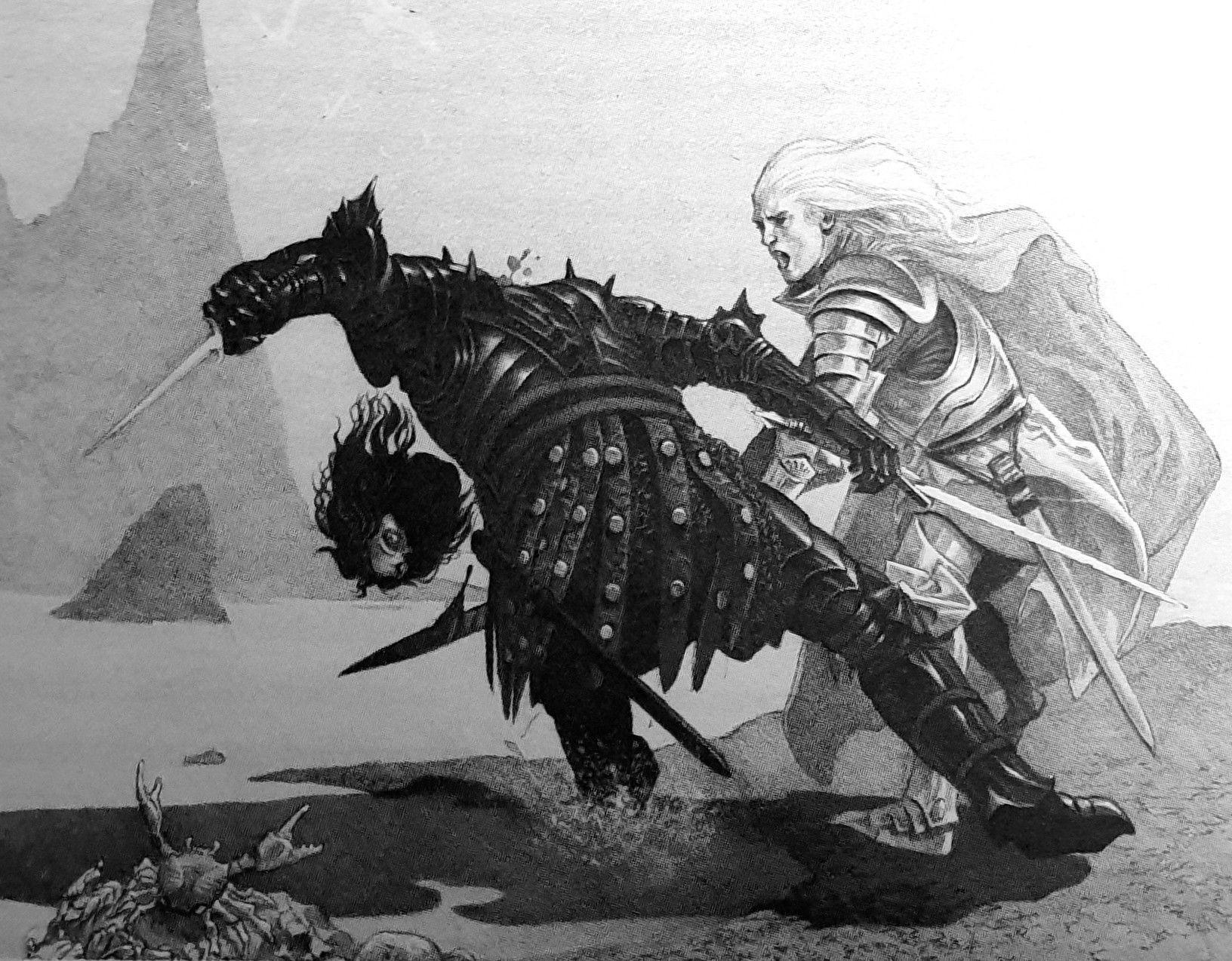 Daemon Lord Flea Bottom Targaryen Beheads Craghas Crabfeeder