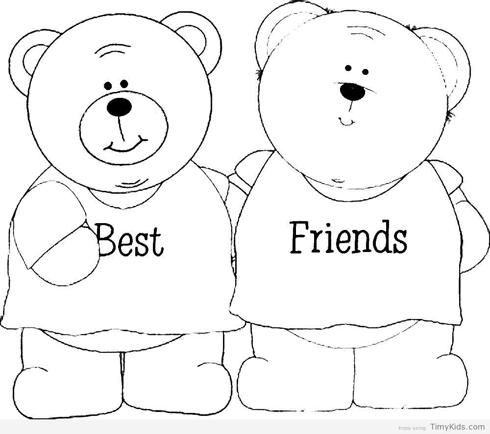 Friends Color Pages Coloring Pictures Coloring Pages For Girls