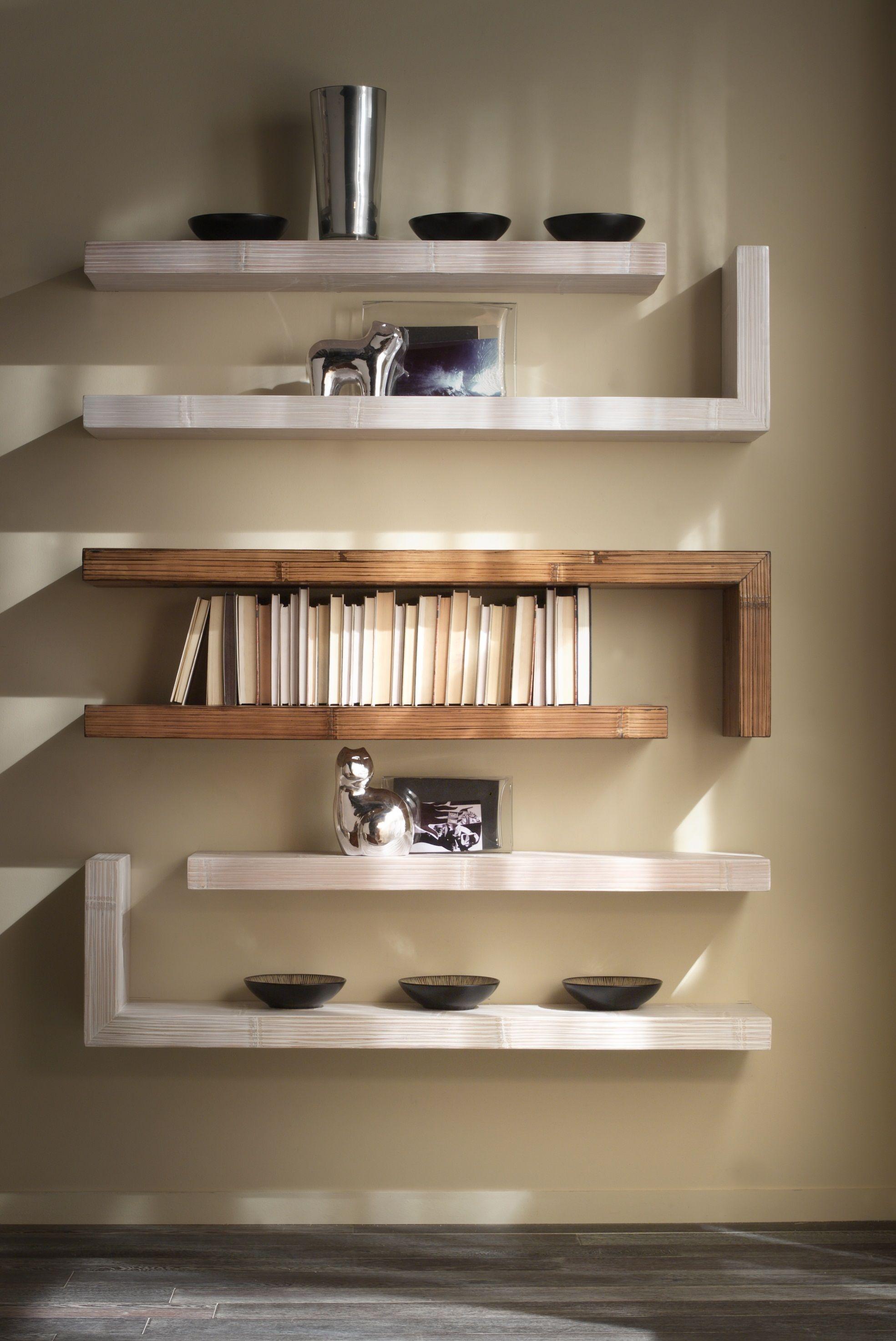 Librerie e mensole per il salotto homcom: Mensole Essential Casa Del Bambu Shelves Shelf Design Wall Shelves Design
