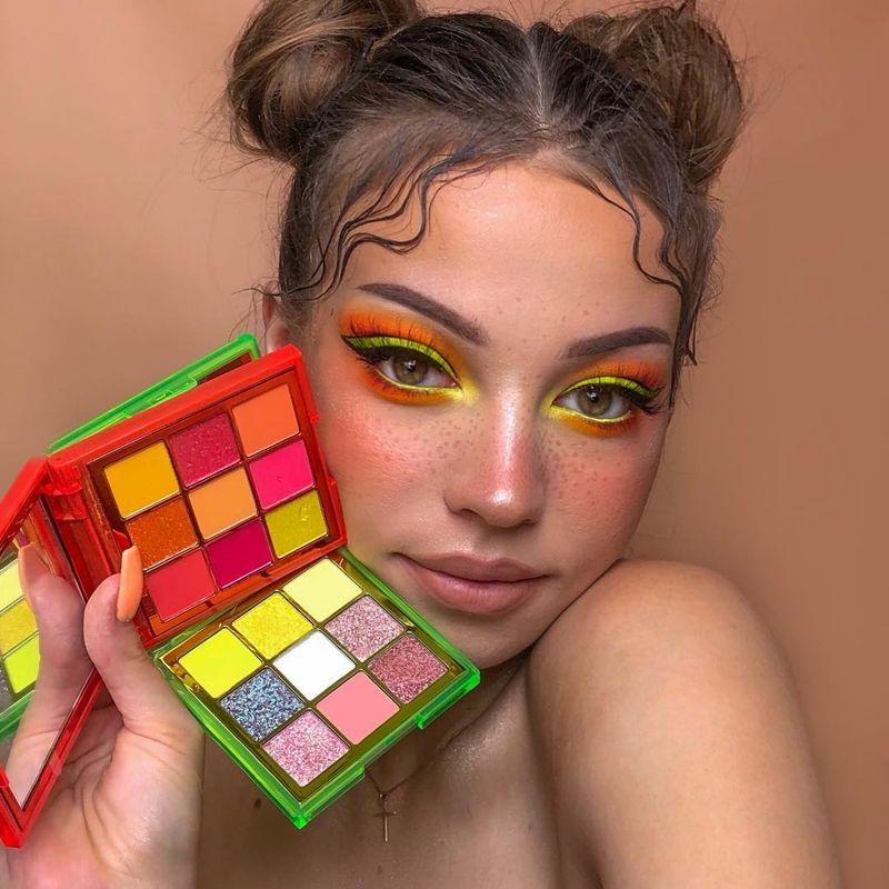 15 Makes usando as Neon Palettes da Huda Beauty