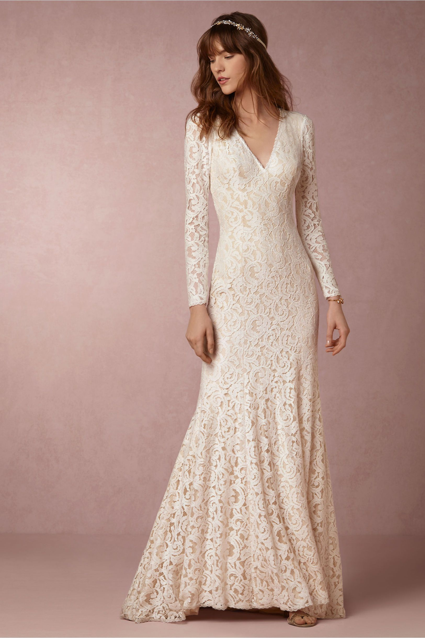 BHLDN Lisette Gown in Bride Wedding Dresses at BHLDN | betrothal ...