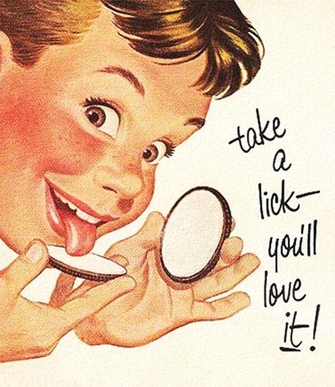 Take a lick