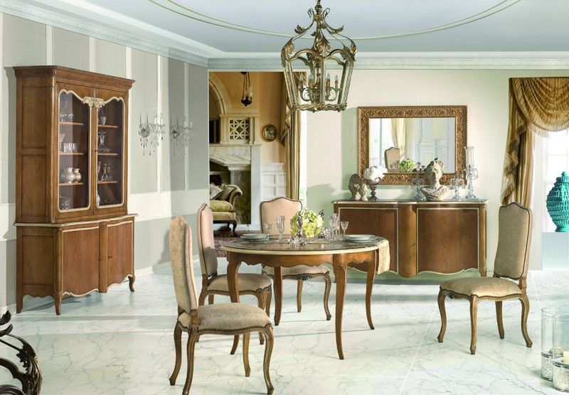 Comedor clásico Luis xv | diseño | Mesas de comedor, Mesas de ...