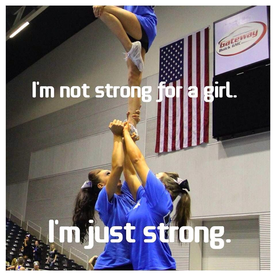 Cheer quote Cheer quotes, Ball exercises, Cheer