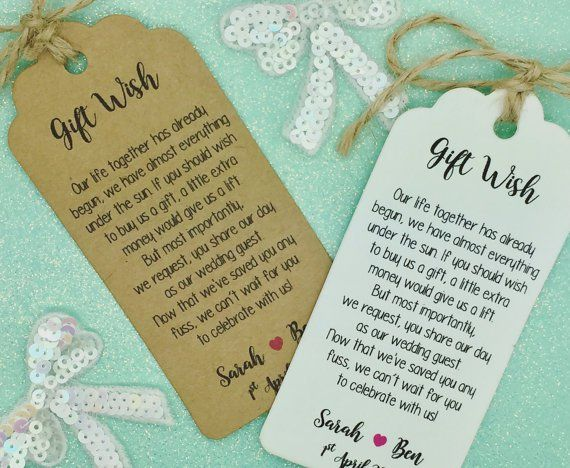 Wedding Invitation Registry Wording: Registry Poems Are A Thing In The UK And Australia And