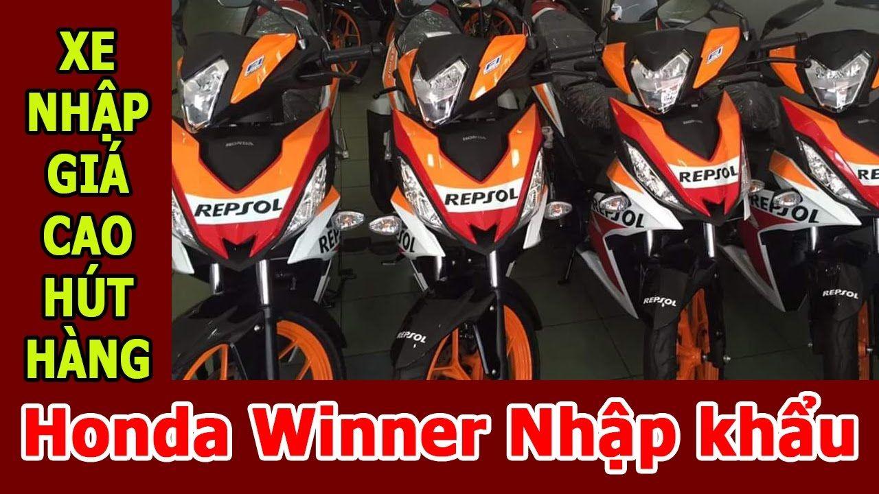 Honda Winner 150 nhập khẩu Malaysia giá gần 70 triệu nhưng vẫn hút hàng