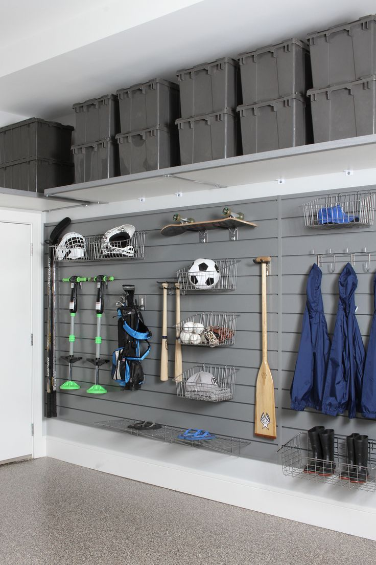 25 brilliant garage wall ideas design and remodel for Garage design ideas gallery