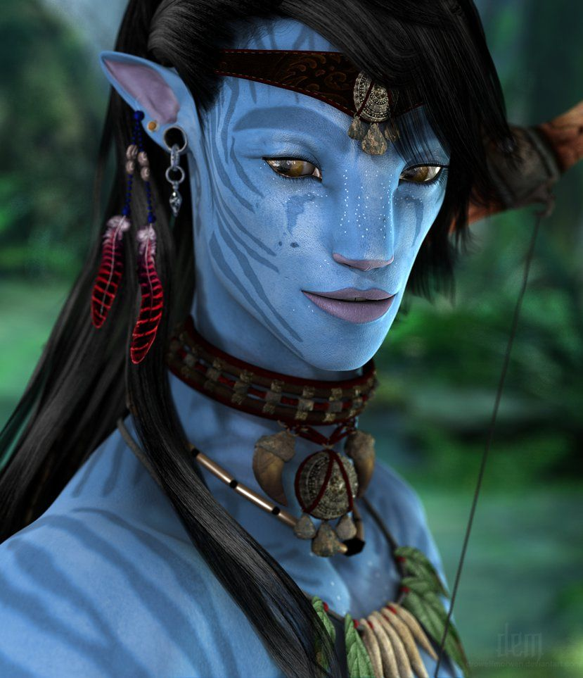 Avatar Movie Drawings: Na'vi, Concep Art And Fanart