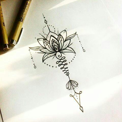 Imagen Relacionada Tatuaje Pinterest Tattoos Unalome Tattoo Y
