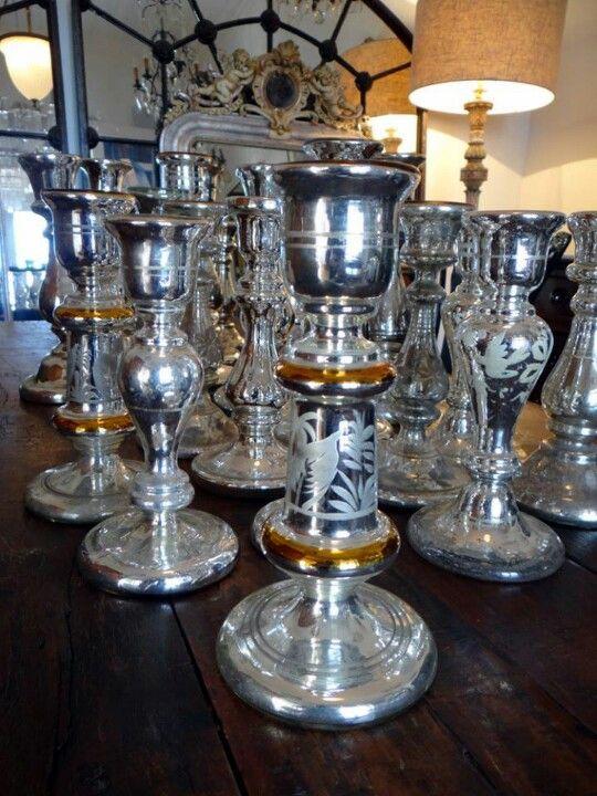 Old English Charm: Pin By Carol Jones On Mercury Glass