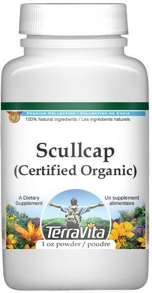 Scullcap (Certified Organic) Powder