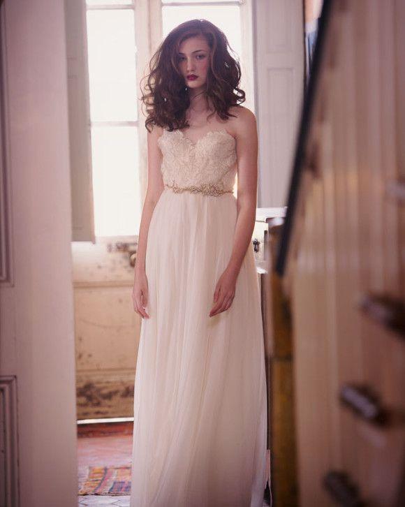 Sarah Seven Spring 2014 bridal collection via Wedding Sparrow