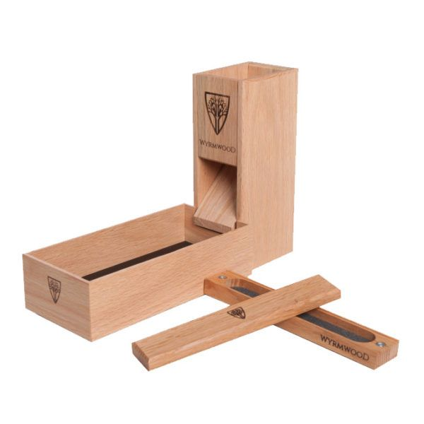 Red Oak Dice Tower | gift list | Dice tower, Tabletop games