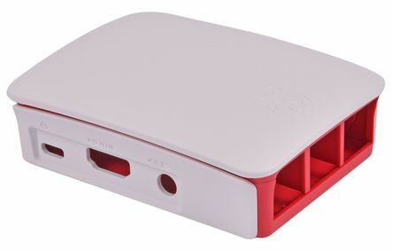 Buy Official Raspberry Pi 3 B Development Board Case, Red, White for…
