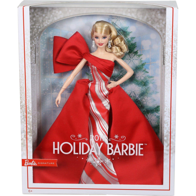 Barbie Signature Noël 2019 Edition Poupées de Collection Mannequins Mattel FXF02