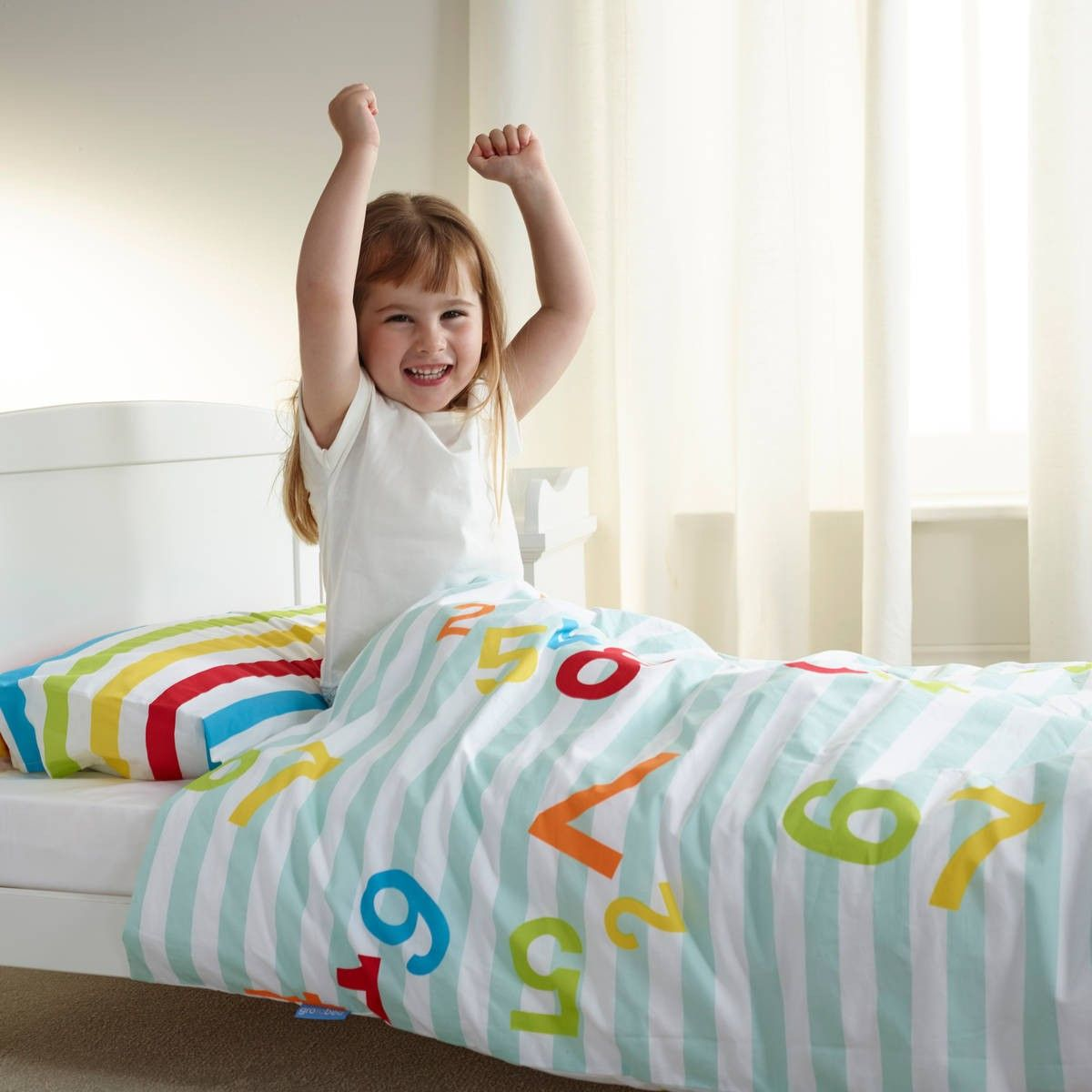 Single Bed Counting Sleep Gro To