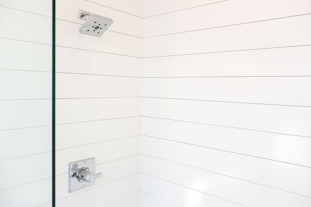 How to Install Shiplap In A Shower (and be the coolest people on the ...