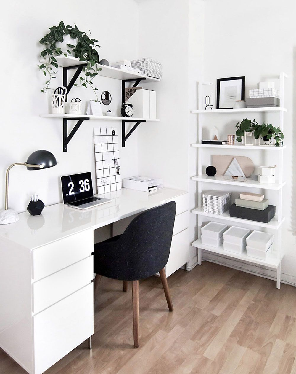 Stylish Scandinavian Home Offices That Will Make Your More Efficient ...