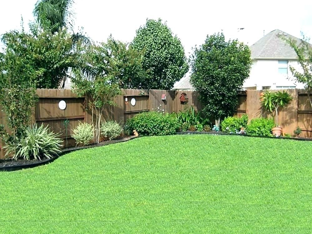 Image Result For Corner Lot Landscaping Ideas Pictures Easy Backyard Landscaping Privacy Landscaping Privacy Fence Landscaping