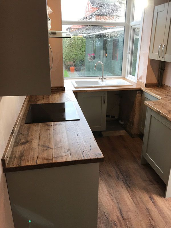 Reclaimed scaffold boards — Dove Furniture & Kitchens York ...