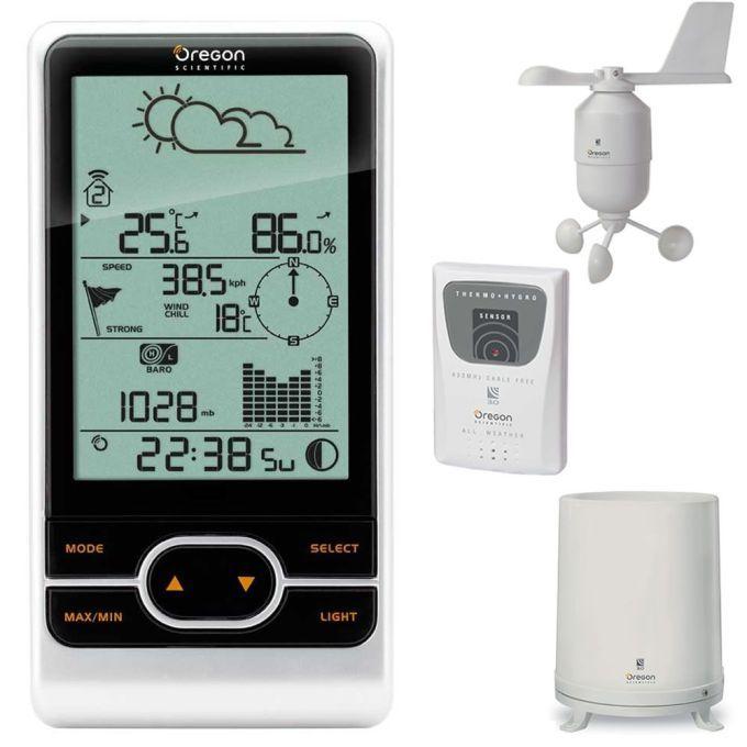 Gu a y consejos para elegir una estaci n meteorol gica - Estaciones meteorologicas domesticas ...