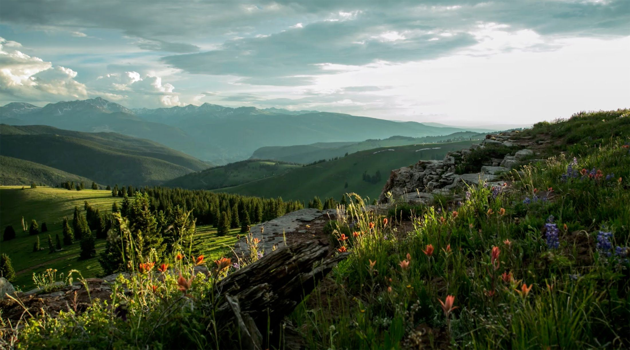 Stunning timelapse video vail co and surrounding areas