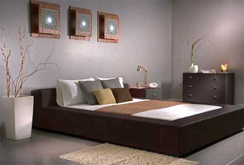 The application of color dominance through interior design bedroom ...