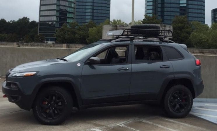 Jeep Cherokee Trailhawk With Roof Rack Jeep Cherokee Trailhawk Cherokee Trailhawk Jeep Cherokee