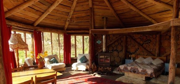 Hobbit House Roundhouse Plan it Earth Cornwall Vacation